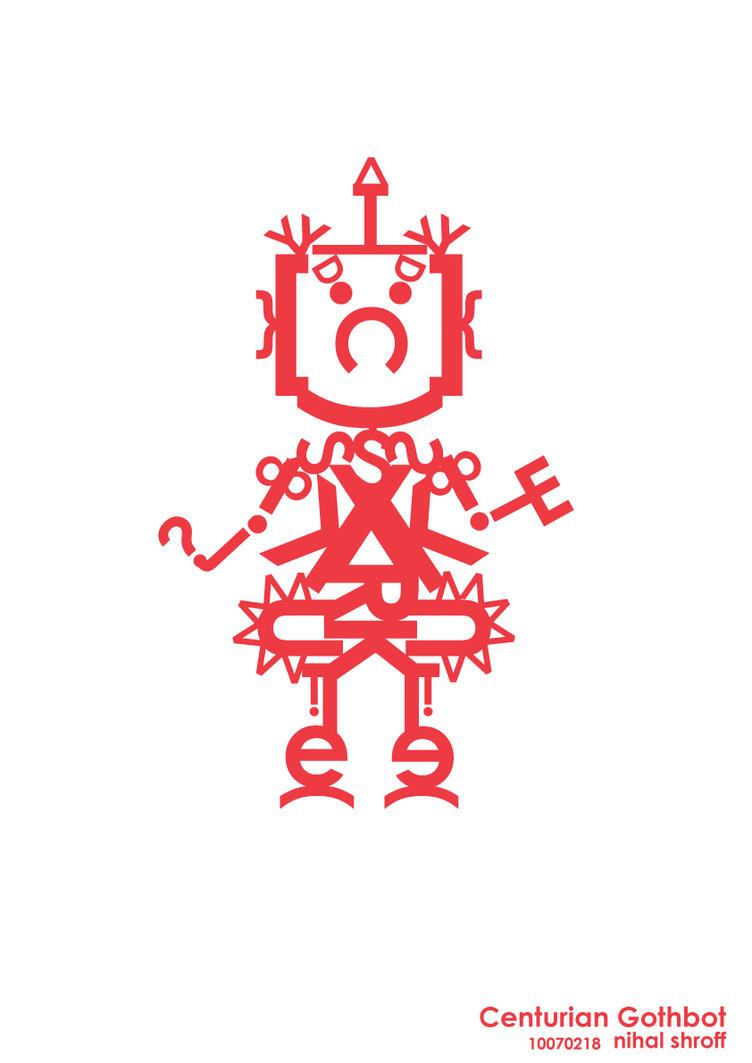 Centurian Gothbot by blkdrgn