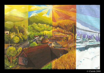 4 Seasons by clairde
