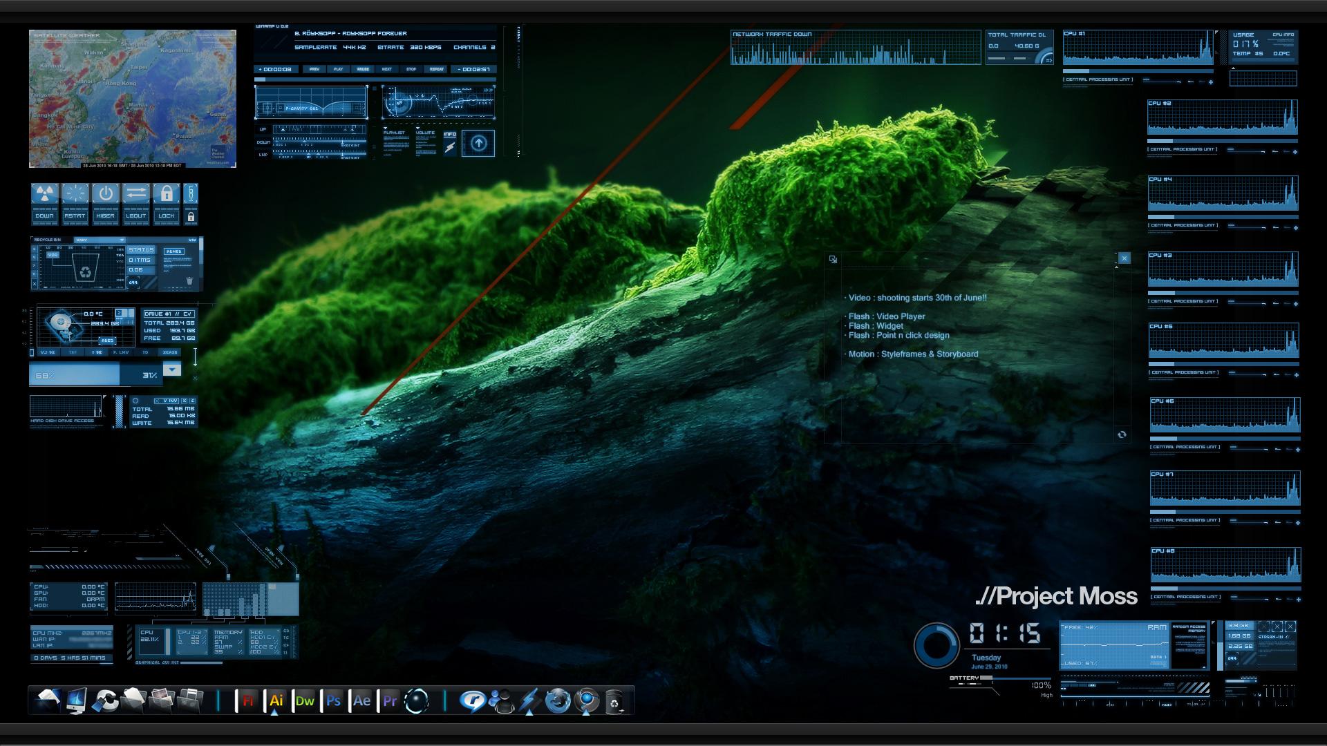 June Desktop 2010 by clairde