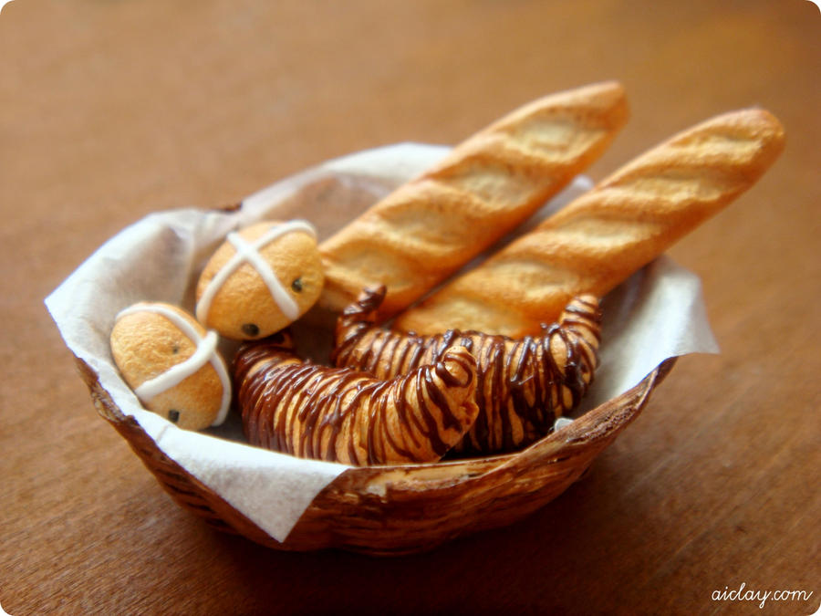 Miniature Bread Basket