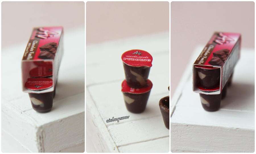 Miniature Pudding Cups by Aiclay