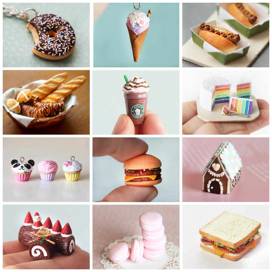 Mini Real Food Kitchen: A Miniature Food Craft Kit! By Aiclay On