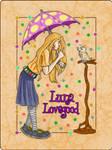 HP cards - Luna Lovegood