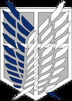 Survey Corps Emblem by Captain-Connor