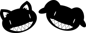 Evil Insane Dog+cat by Captain-Connor