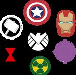 Marvel Avengers Symbols