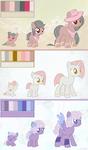 OTA ponies 2/3 OPEN by 666Lost-Soul666