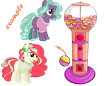 Gacha ponies OPEN by 666Lost-Soul666