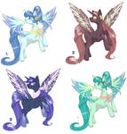 Alicorn adopts OPEN 4/4 upd 14.05 by 666Lost-Soul666