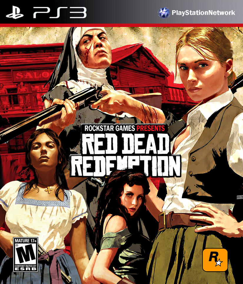 Women Of Red Dead Redemption PS3 Cover Variation 2 By