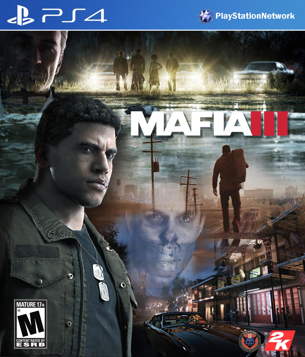 Mafia Games For Ps4 : Mafia iii ps video game cover by domestrialization on