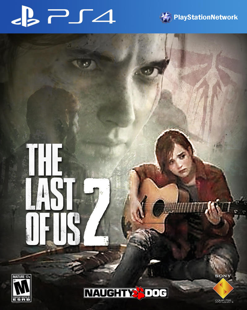 the last of us 2 ps4 cover by domestrialization on deviantart. Black Bedroom Furniture Sets. Home Design Ideas