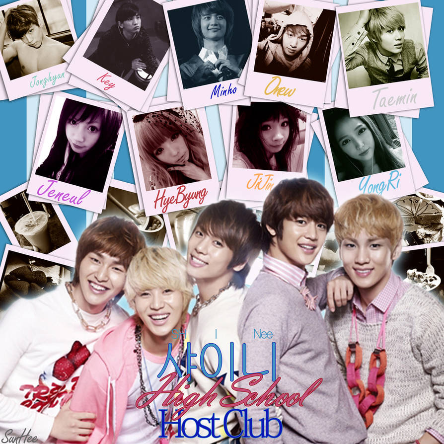 SHINee High School Host Club:Project Poster- by little