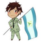 -Hetalia OC: Nicaragua-