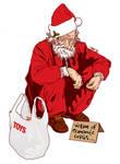 Homeless Santa.