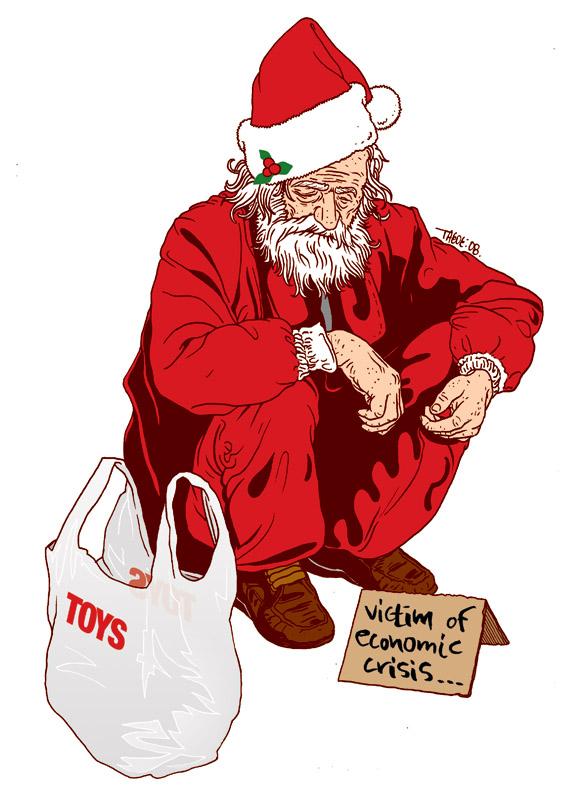 Homeless santa by t drom on deviantart homeless santa by t drom spiritdancerdesigns Choice Image
