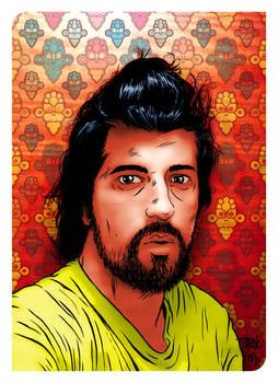 Self-portrait for Esquire