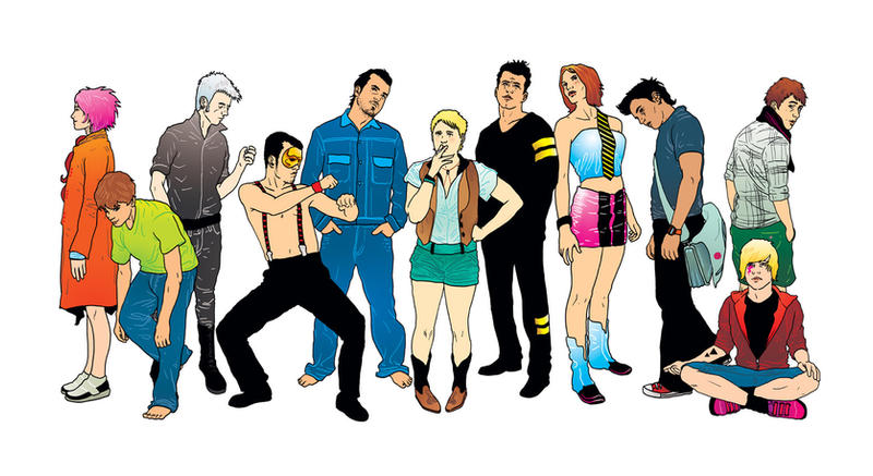 Secondhand Youth characters