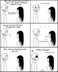 Teasing Edward by xdragonslayerx