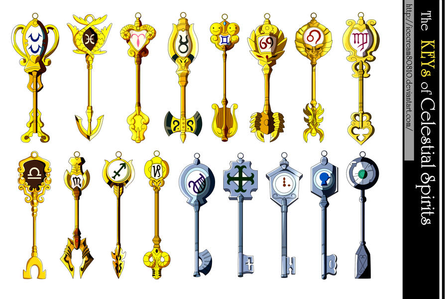 Keys of the Celestial Spirits , Fairy Tail by ...