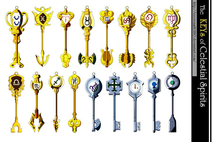 Keys of the Celestial Spirits , Fairy Tail by ...