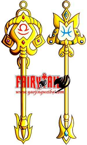 Libra   Pisces key  fairy tail  I created by icecream80810Fairy Tail Pisces And Libra