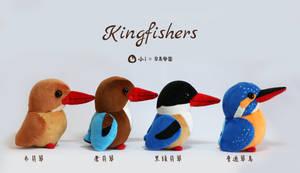 Kingfishers plush by icecream80810