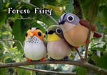 little birds, plush by icecream80810