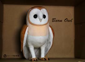 Barn Owl plush