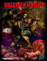 SPLATTERHOUSE FINAL by rockmanzallz