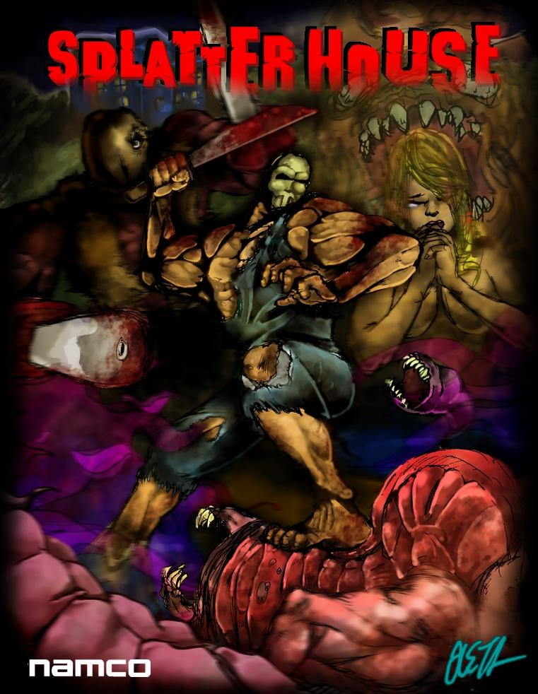 SPLATTERHOUSE FINAL by rockmanzallz