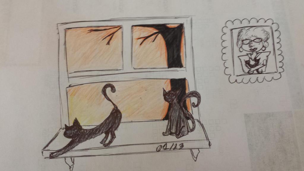 13 Days 13 Shorts- Oct19th- Black Cats by JadeBennett