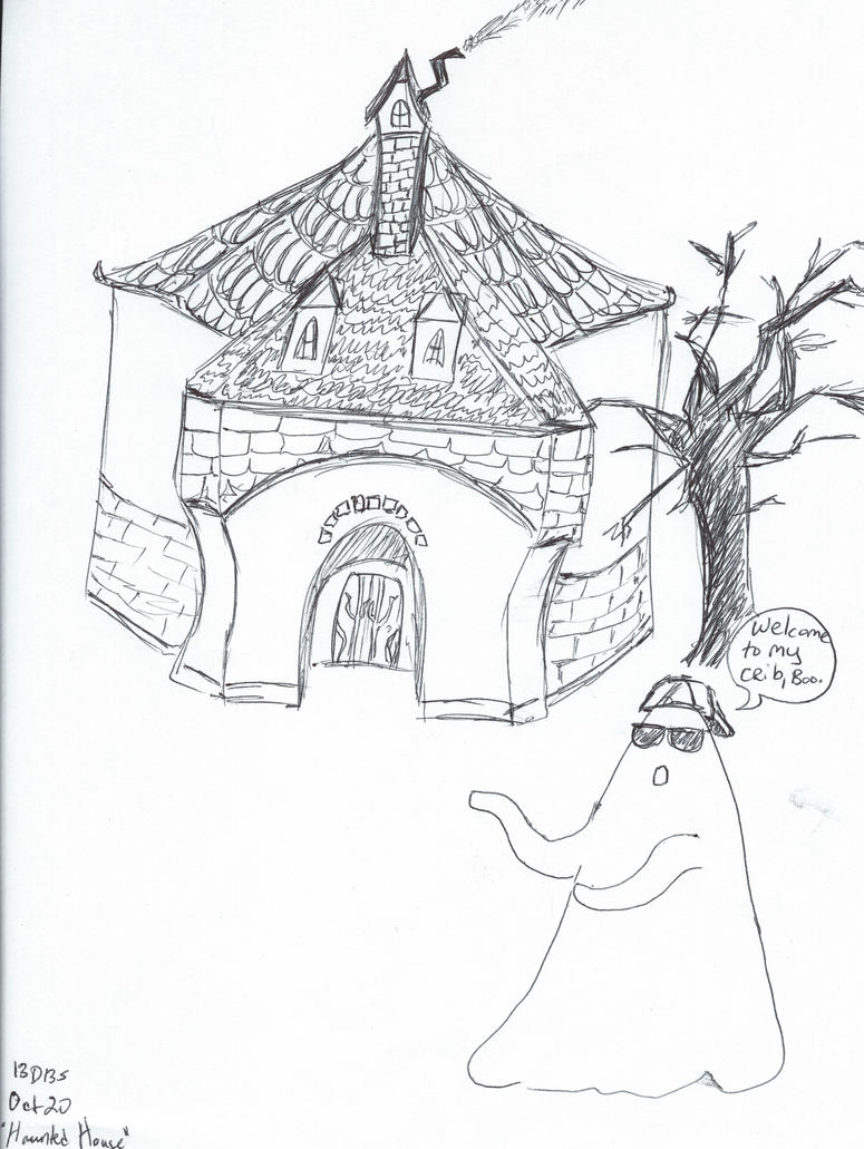 13 Days 13 Shorts- Oct 20th- Haunted House by JadeBennett