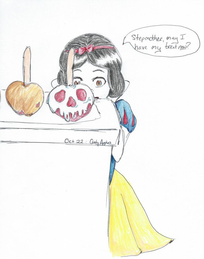13 days 13 shorts- Oct 22nd- Candy Apples by JadeBennett