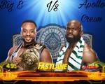 WWE Fastlane 2021 Big E vs Apollo Crews