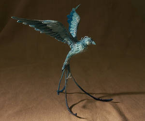 fantasy bird by melinaminotti