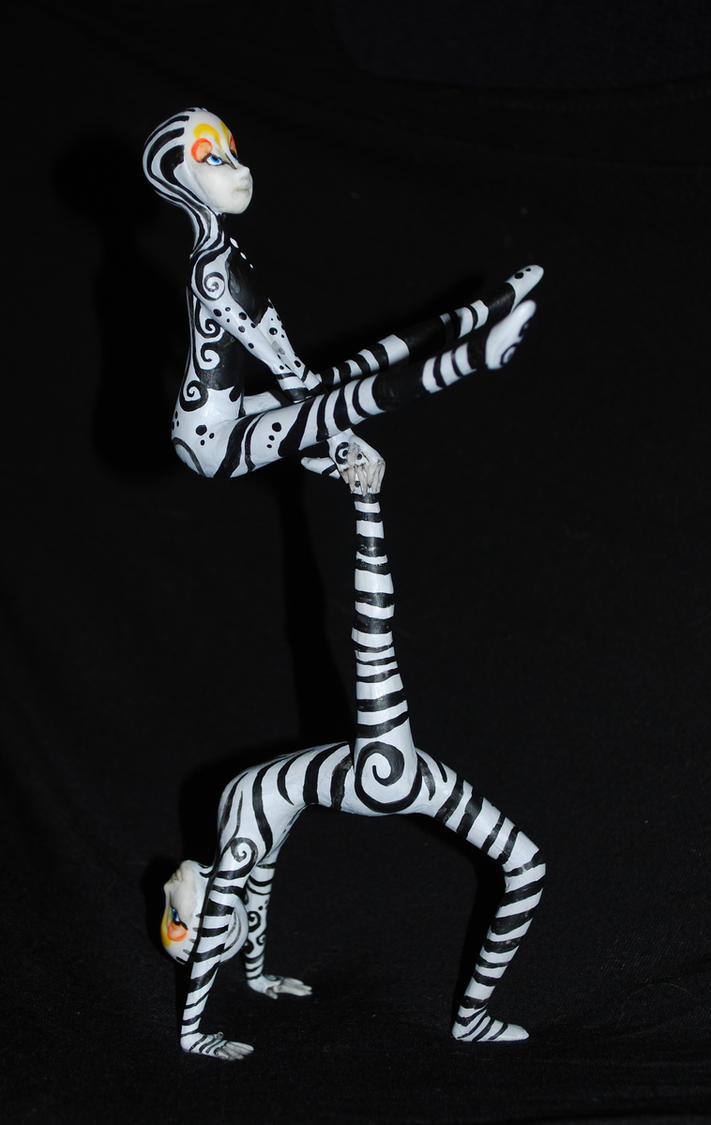 Acrobats by melinaminotti