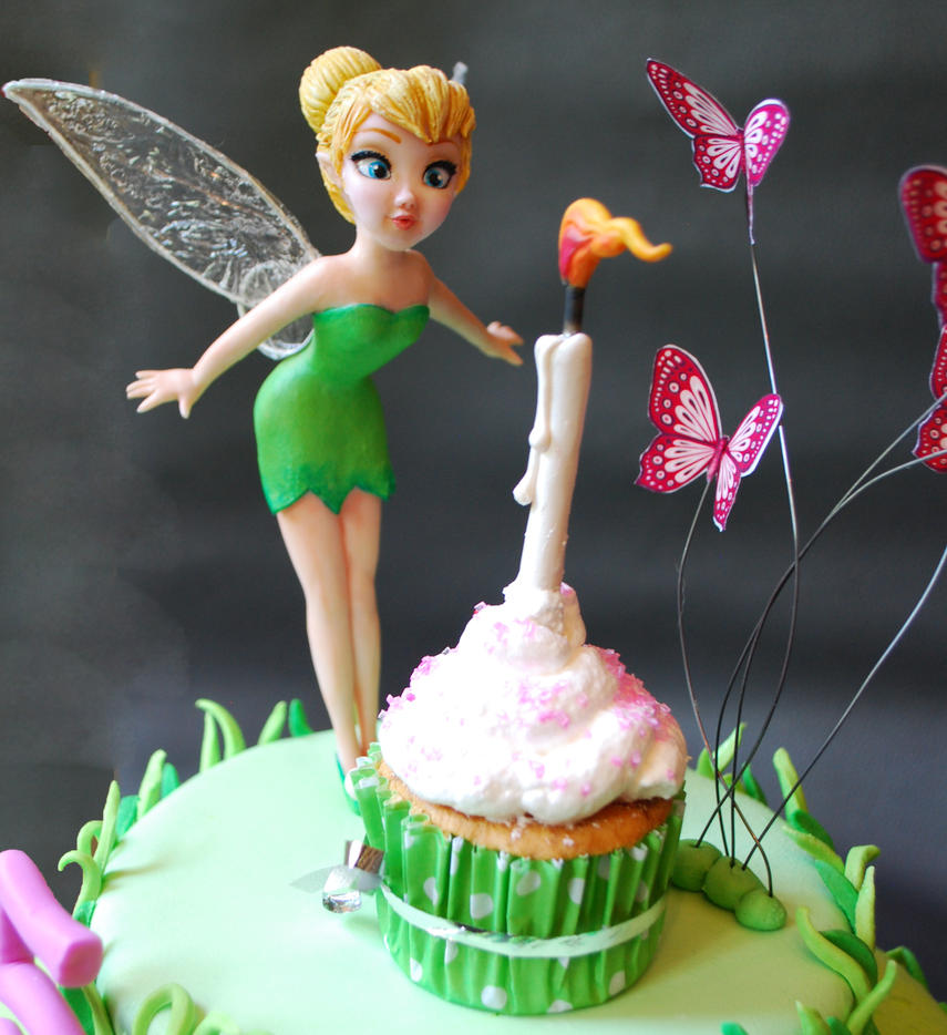 Tinkerbell cake (detail) by melinaminotti