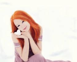 Her little white heart by ankkutza