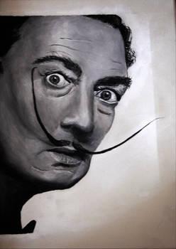 Salvador Dali portrait