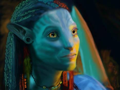 Avatar - Neytiri (WIP)
