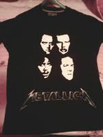 Metallica hand-painted t-shirt