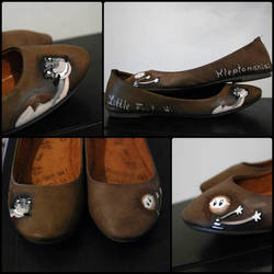 Little Foot Hand-Painted Flats
