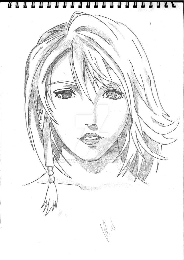 Yuna by KaiMomochi