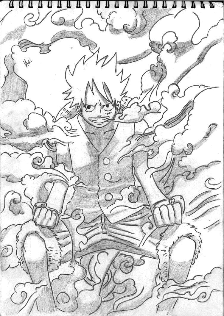 Luffy by KaiMomochi