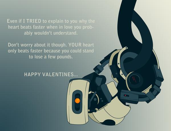 Glados Valentine by BeckaPOW