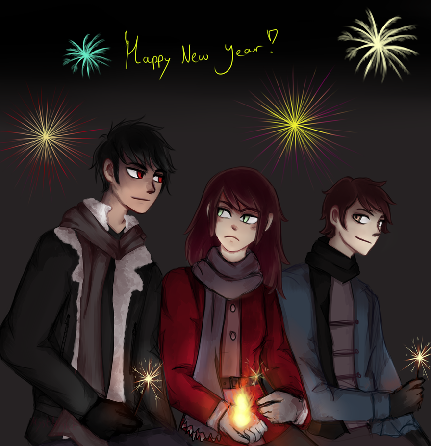 Happy new year! by MystNight