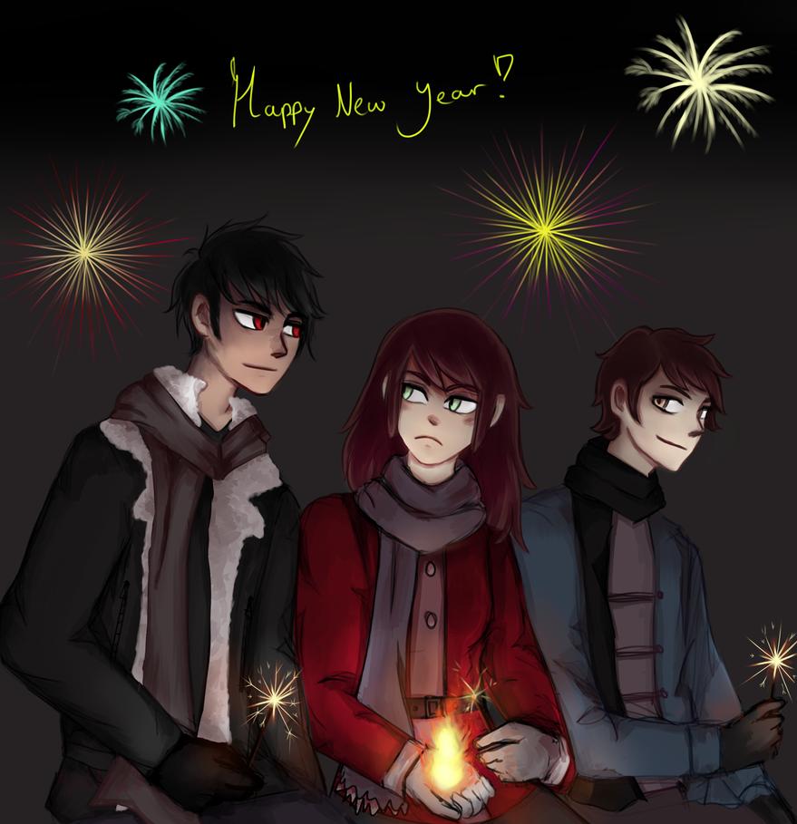Happy new year! by MystNight