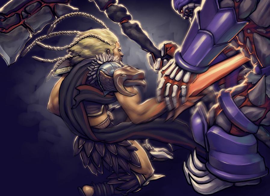 Algol vs Astaroth by mattahan