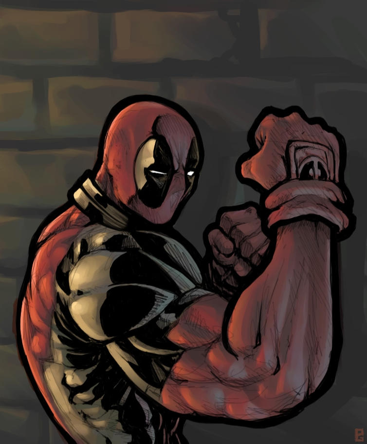 Deadpool by mattahan